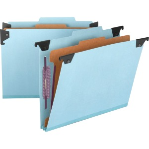 Smead FasTab Hanging Classification Folder with SafeSHIELD Fastener