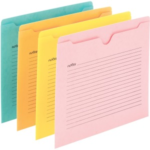 Smead Notes File Jackets