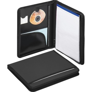 Smead Poly Nylon Covered Zippered Pad Folios