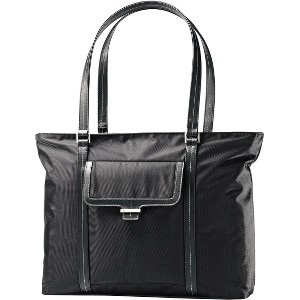 "Samsonite Ultima 2 Carrying Case (Tote) for 15.6"" Notebook, Tablet, iPad, File Folder, Books, Accessories - Black"