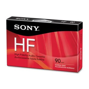 SONY BR C90HFR STANDARD - 1-90 MIN STAND CASSETTE