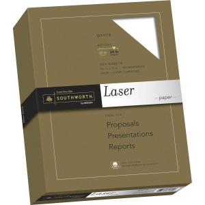 Southworth 31-724-10 Laser Print Laser Paper - 25% Recycled