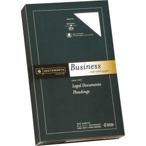 Southworth Red Ruled Business Paper
