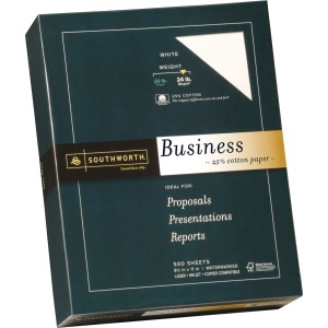 Southworth 24lb 25% Cotton Business Paper
