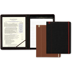Southworth Leatherette Career Padfolio with Writing Pad