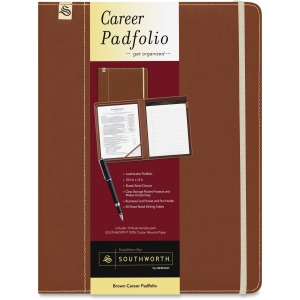 Southworth Leatherette Career Padfolio