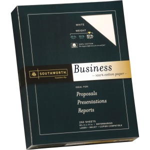 Southworth Premium Weight 100% Business Cotton Paper