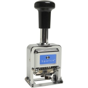Sparco Automatic Numbering Machines