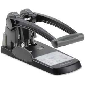 Swingline® Extra High Capacity 2-Hole Punch, Fixed Centers, 300 Sheets