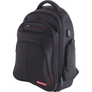 "Swiss Mobility Carrying Case (Backpack) for 15.6"" Notebook - Black"