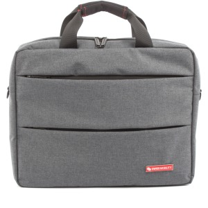 "Swiss Mobility Carrying Case (Briefcase) for 15.6"" Notebook - Gray"