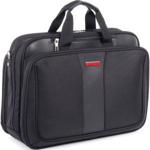 "Swiss Mobility Carrying Case (Briefcase) for 17.3"" Notebook - Black"