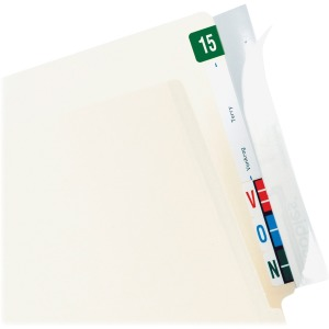 Tabbies Wrap Around Folder End Tabs