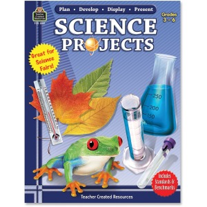 Teacher Created Resources Gr 3-6 Science Projects Book Printed Book