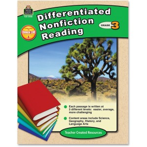 Teacher Created Resources Gr 3 Differentiated Reading Book Printed Book