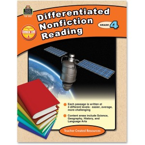 Teacher Created Resources Grade 4 Differentiated Reading Book Printed Book