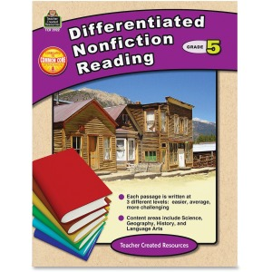 Teacher Created Resources Grade 5 Differentiated Reading Book Printed Book