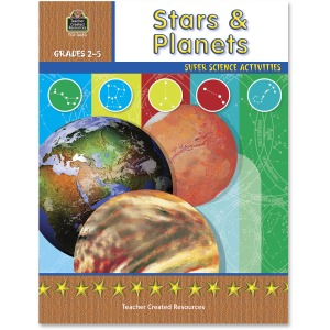 Teacher Created Resources Gr 2-5 Stars/Planets Book Printed Book