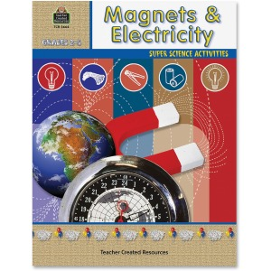 Teacher Created Resources Grade 2-5 Magnets/Electricity Book Printed Book