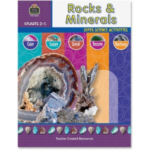 Teacher Created Resources Gr 2-5 Rocks/Minerals Book Printed Book