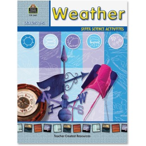 Teacher Created Resources Grades 2-5 Weather Book Printed Book