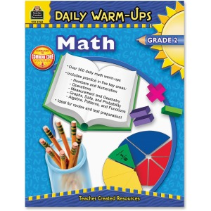 Teacher Created Resources Gr 2 Math Daily Warm-Ups Book Printed Book