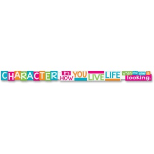 Trend Character It's How You Live Message Banner