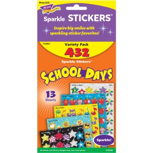 Trend School Days Sparkle Stickers Assortment