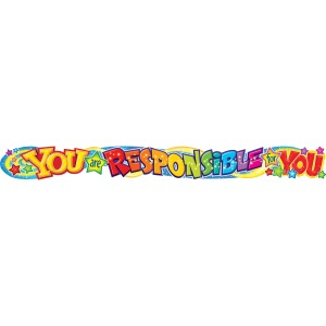 Trend You Are Responsible 10-feet Color Banner