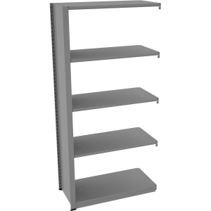 "Tennsco Capstone Shelving 48""W 6-shelf Unit"