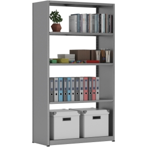 "Tennsco Capstone Shelving 36""W 6-shelf Unit"