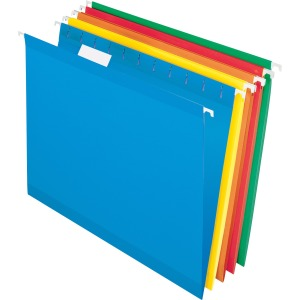 TOPS Recycled 1/5 Cut Hanging Folders