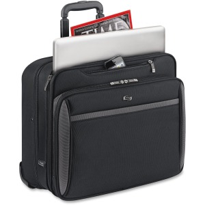 "Solo Sterling Carrying Case (Roller) for 16"" Notebook - Black"