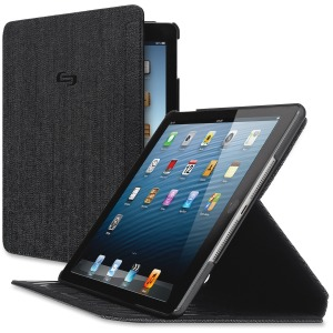 Solo Carrying Case Apple iPad Air, iPad Air 2 Tablet - Black