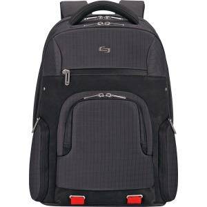 "Solo Aegis Carrying Case (Backpack) for 15.6"" Notebook - Black, Red"