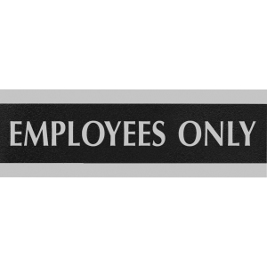 HeadLine Century Employees Only Sign