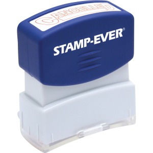 Stamp-Ever Pre-inked Cancelled Stamp