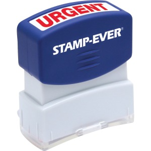 Stamp-Ever Pre-Inked One-Color Urgent Stamp