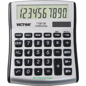 Victor 11003A Mini Desktop Calculator