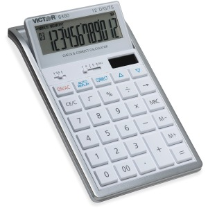 Victor 12-Digit Check and Correct Desk Calculator