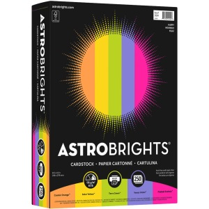 Astrobrights Inkjet, Laser Printable Multipurpose Card