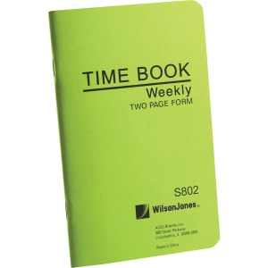 Wilson Jones® Foreman�s Time Book