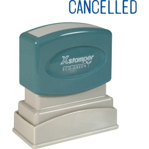 Xstamper CANCELLED Title Stamp