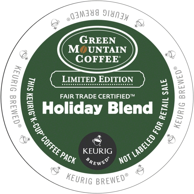 Green Mountain Coffee Coffee Holiday Blend Coffee K-Cup