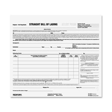 Bill of Lading Forms