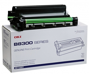 OKIDATA B8300N - SD BLACK TONER/DRUM