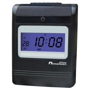 ACRO ATR240 ELECTRONIC - TOP FEED TIME CLOCK
