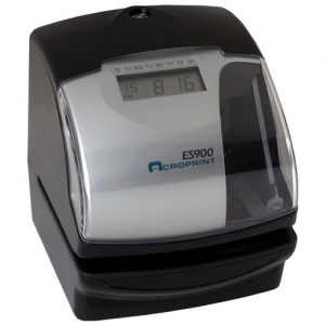 ACRO ES900 MULTIFUNCTION - ATOMIC TIME RECORD/STAMP