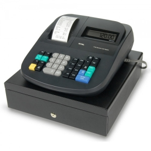 ROYAL 120DX 16 DEPT - INK ROLL CASH REGISTER
