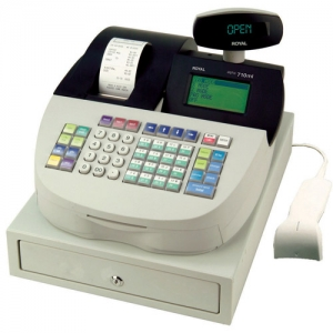 ROYAL A710ML REFURBISHED - THERMAL CASH REG/SCAN